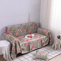 flower prints all inclusive universal sofa cover dust cover couch home decoration sofa slipcover for living room