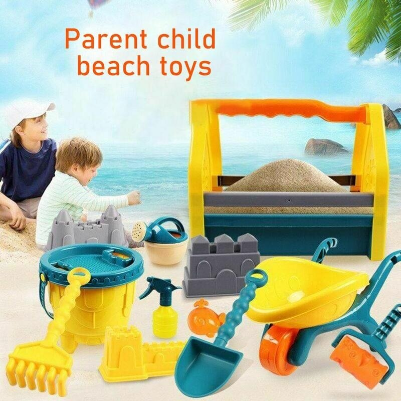 Пляжные игрушки, машинки для детей, пляжные игрушки, набор детских игрушек с песком, летние игрушки для пляжа, игрушки для песка, воды, игрова...