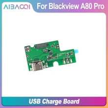 Neue Original USB Stecker Lade Board + Mikrofon Für Blackview A80 Pro Telefon Flex Kabel Lade Modul Telefon Mini USB port