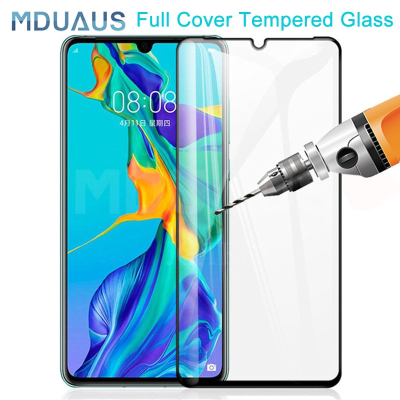 9D Full Cover Tempered Glass on the For Huawei P30 P20 Pro P10 P20 Lite Plus Safety Screen Protector