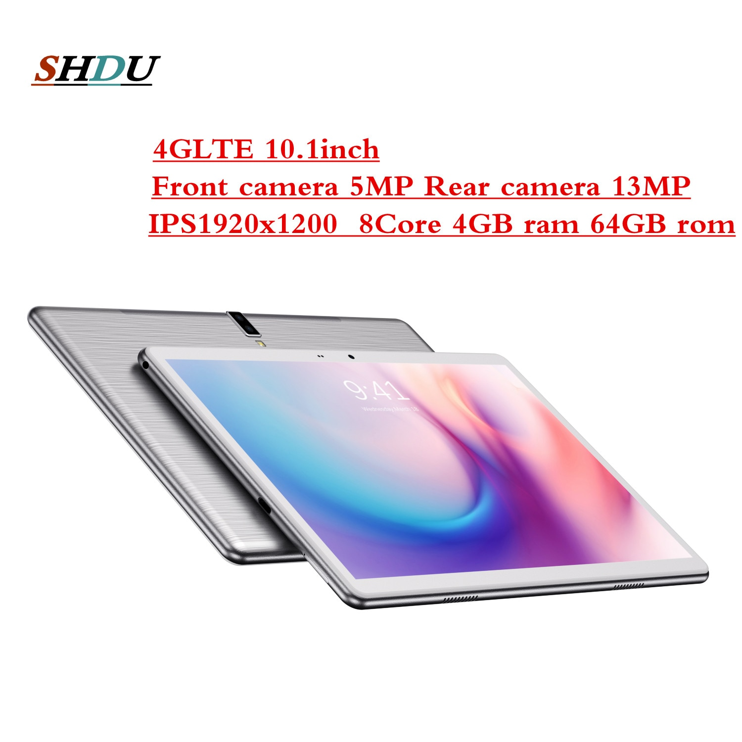 2021 New Tablet Pc 10.1 inch Android 10.0 Google Play 3G 4G Phone Call Tablets WiFi Bluetooth GPS Tempered Glass 10 inch Tablet