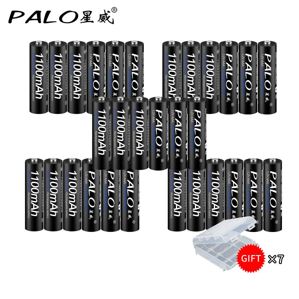 30pcs/lots original 1100mah aaa rechargeable NI-MH aaa battery rechargeable battery 1.2V Ni-MH rechargeable battery 3a for clock