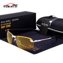 ZHIYI jour nuit conduite lunettes Hong Kong célèbre marque Vision nocturne lunettes alliage polarisation lunettes de soleil hommes rétro lunettes de soleil