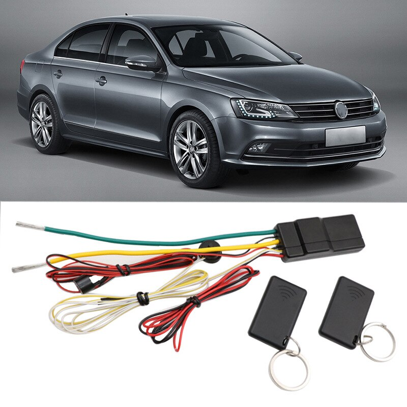 2.4Ghz Car Engine Lock Host Control Button Starter Immobilizer Car Keyless Entry Start Stop Anti-Theft Alarm System