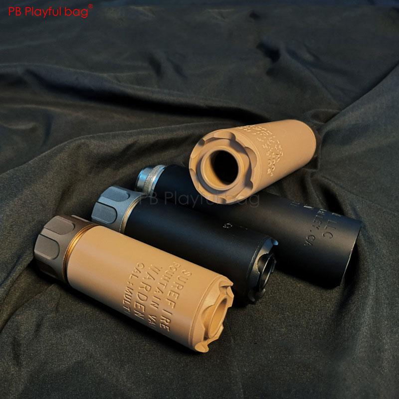 Playful bag Outdoor CS Tactical CS SOCOM silencer Upgrade material decorative toys 14mm/19mm Competitive toy equipment QG43