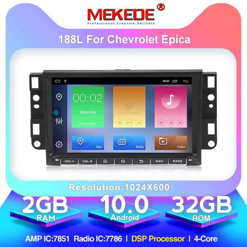 Android 10 2 Din Radio stereo Multimedia Car DVD Player For Chevrolet Epica Captiva Lova Aveo Spark Optra Holden GPS navigation