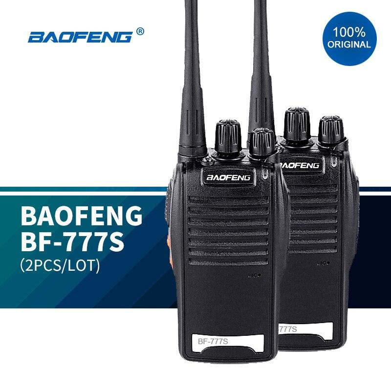 Портативная беспроводная рация BAOFENG 888 16chs uhf радиостанция, 2 шт./лот