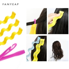 6 pcs Hairdressing Home Use DIY Magic Large Self-Adhesive Hair Rollers Styling Roller Roll Curler Be
