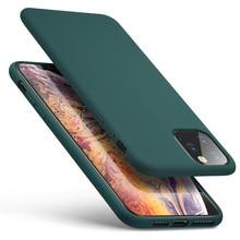 Pour iPhone SE 2020 Housse pour iPhone 11Pro Max Étui de Téléphone En Silicone Dorigine Pour iPhone SE2 X XR XS Max 7 8 Plus