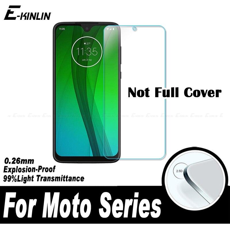 מגן מסך זכוכית מחוסמת עבור מוטורולה Moto אחד פעולה ראיית היפר כוח זום G8 G7 G6 G5S E6s E6 E5 e4 בתוספת לשחק