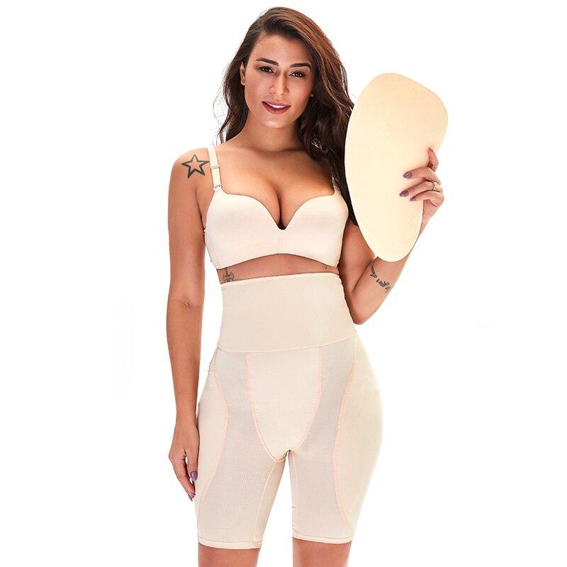 مثير الورك الوسادة الأرداف الجسم تشكيل السراويل حزام تخسيس محدد شكل الجسم النساء عالية الخصر المشكل السراويل تنفس محدد شكل الجسم مشد