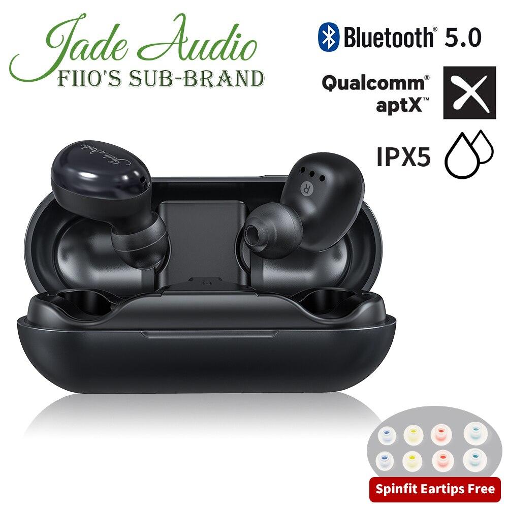 JadeAudio (FiiO) EW1 TWS IPX5 Bluetooth aptX V5.0 Спортивные Беспроводные наушники с поддержкой aptX/AAC (четкие звонки/сенсорное управление)