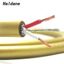 Haldane HIFI Cardas HEXLINK doré 5C Grade fièvre câble Audio haut de gamme câble dinterconnexion RCA