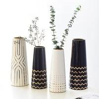 light luxury modern ceramics vase living room dining table flower decoration vase decoration modern home decor