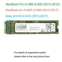 128GB 256GB 512GB 1 to SSD pour 2013 2014 2015 2017 Macbook Air A1465 A1466 pour Macbook Pro Retina A1398 A1502 SSD Drive
