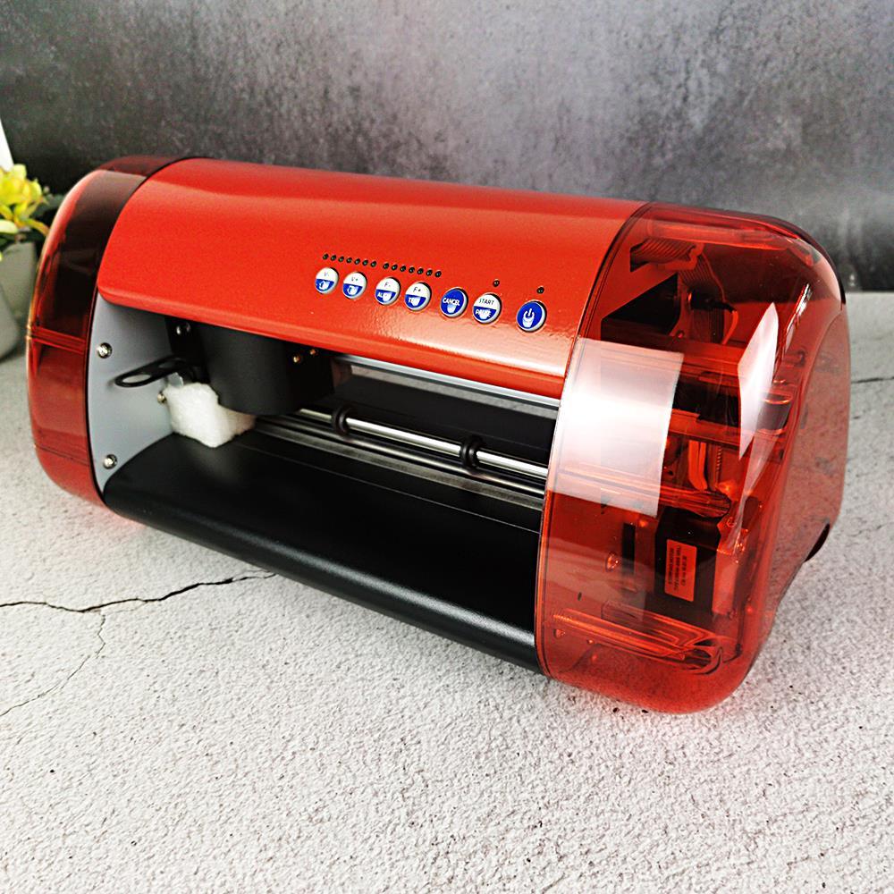 آلة قطع راسمة آلية للتصويب بالكمبيوتر جديدة من الفينيل Anycut DC330 PU حجم A3 لسطح المكتب المصغر ماكينة نقش A3