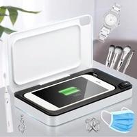 professional ozone uv sterilizer box phone mask glasses nail tools sanitizer