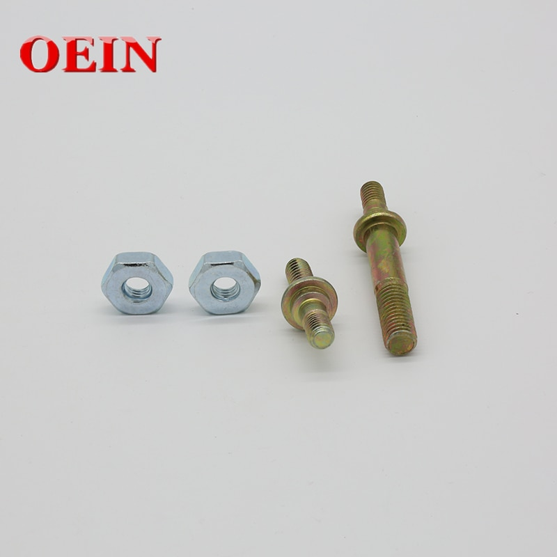 Bar Stud Nut Screw Kit For Stihl MS 029 MS290 039 MS390 MS310 Chainsaw Long and Short Replacement Parts 11276642405 11276642400
