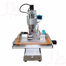 3 ejes 4 ejes 5 ejes cnc 3040 Tipo de Pilar máquina de grabado, 1500W 2200W tabla columna Tipo carpintería bola tornillo cnc router