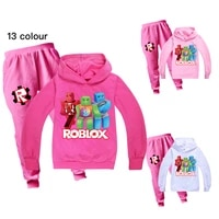 2021 girls robloxing clothing set toddler girl outfits boutique kids anime pictures clothing teenage girls clothing