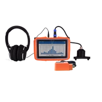 pqwt l50 indoor underground water leak detector pipeline maintenance gold metal vibration monitoring system