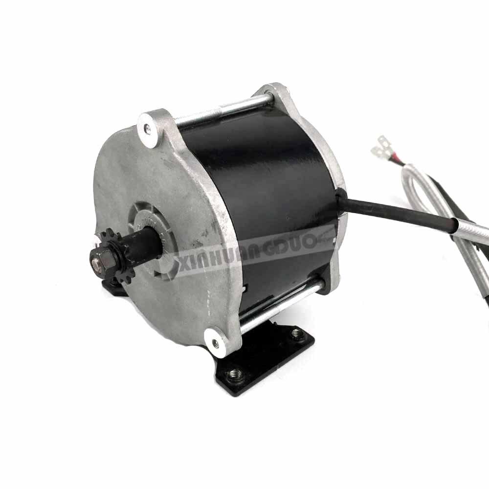 UNITEMOTOR-kit de moteur de vélo électrique MY1018E-D W, 36V, DC, DC, 500