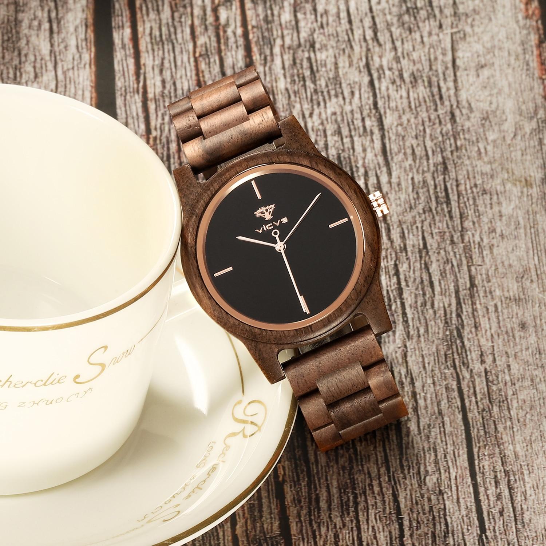 Фото - Деревянные часы, мужские часы 2021, женские кварцевые часы, мужские часы, модные роскошные часы с минимальным заказом, часы от производителя часы