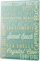 since 2004 tin sign globetrotter beach coast