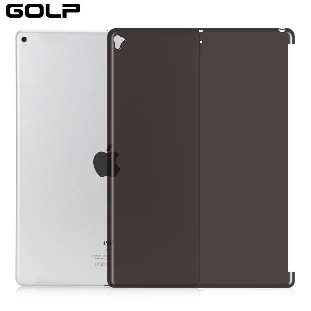 Ударопрочный силиконовый чехол-накладка для iPad Pro 12,9, 2015, 2016, 2017, чехол GOLP, мягкий ТПУ чехол для iPad Pro 12,9, 2017, чехол