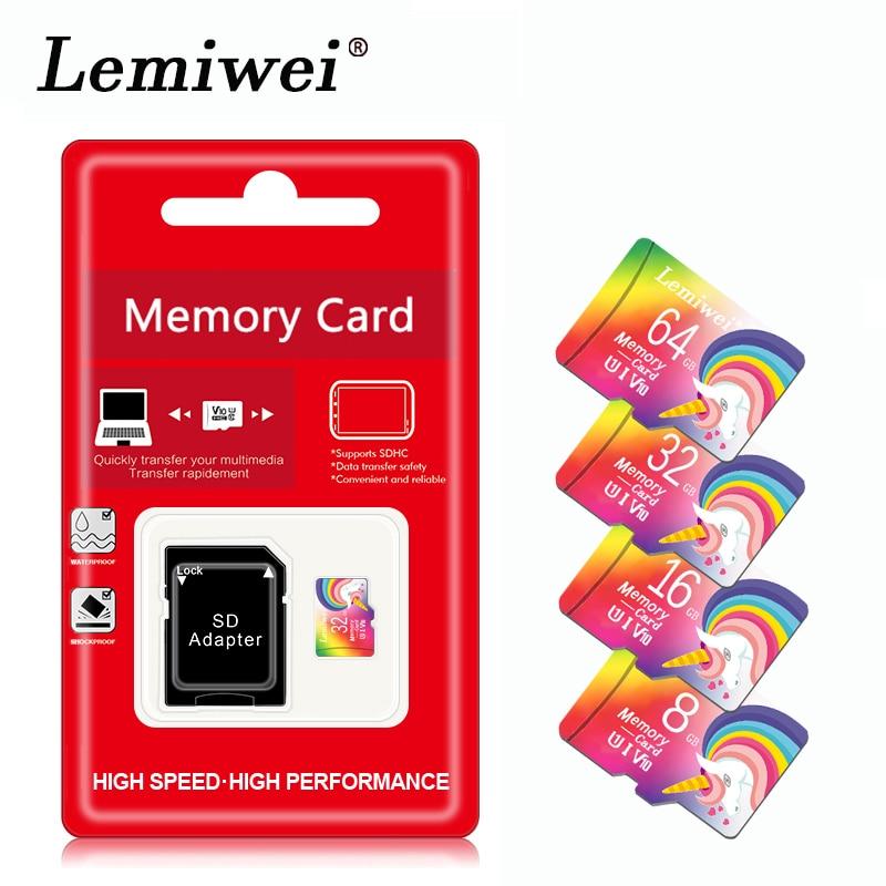 Micro SD Card Memory Cards 8GB 16GB 32GB MicroSD Mini TF Flash Card Class10 32gb 64gb 128 gb for sma
