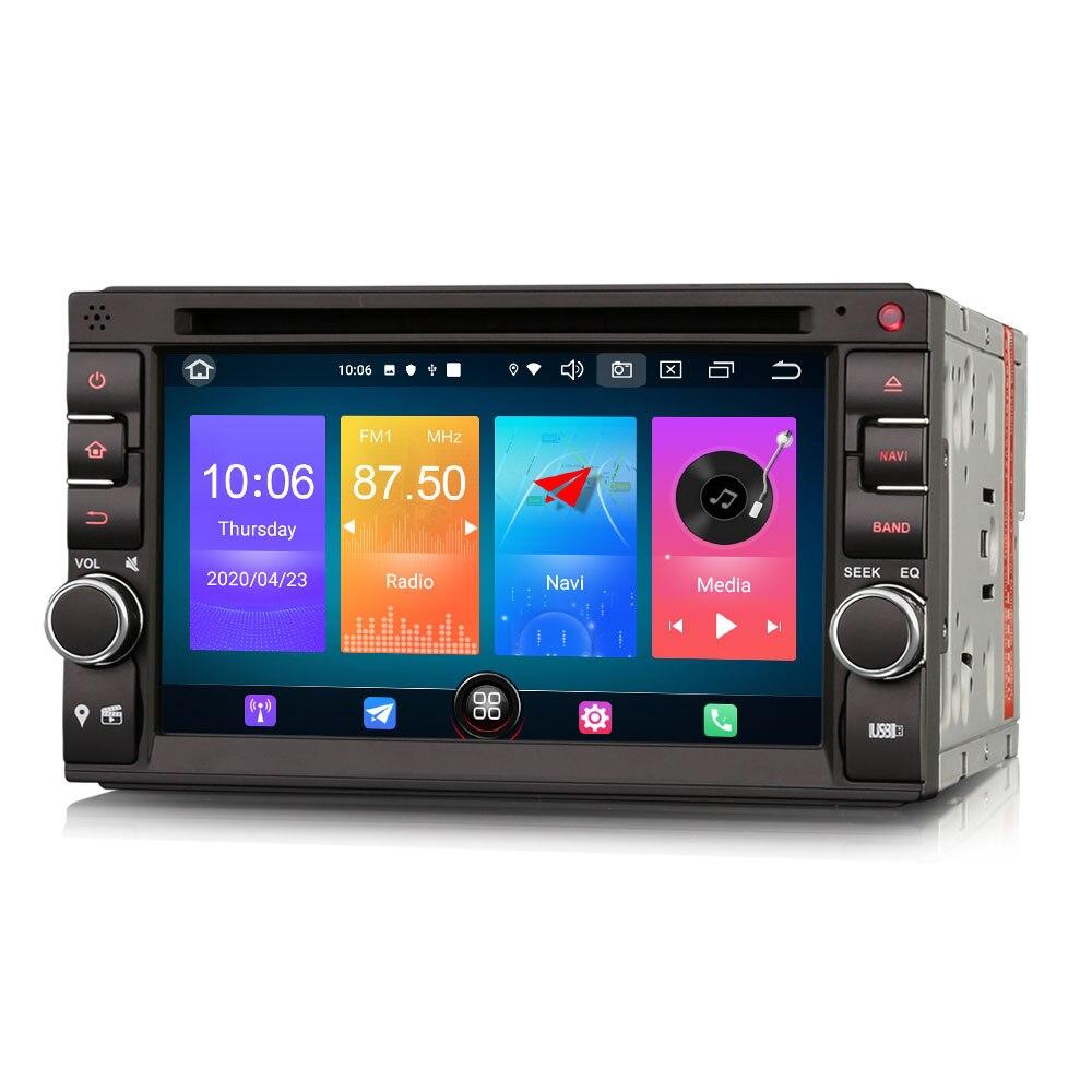 """Reproductor Multimedia con sistema de Radio GPS, DVD y sistema operativo Android 6,2 de 10,0 """"para Nissan Frontier 2001-2011 Livina 2006-2010 Terrano 2005-2010"""