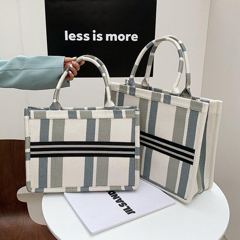حقيبة الإناث 2021 المرأة الاتجاه حقائب كتف المرأة المتسوق حقيبة منقوشة حمل حقيبة قماش حقيبة كبيرة للنساء المحافظ وحقائب اليد