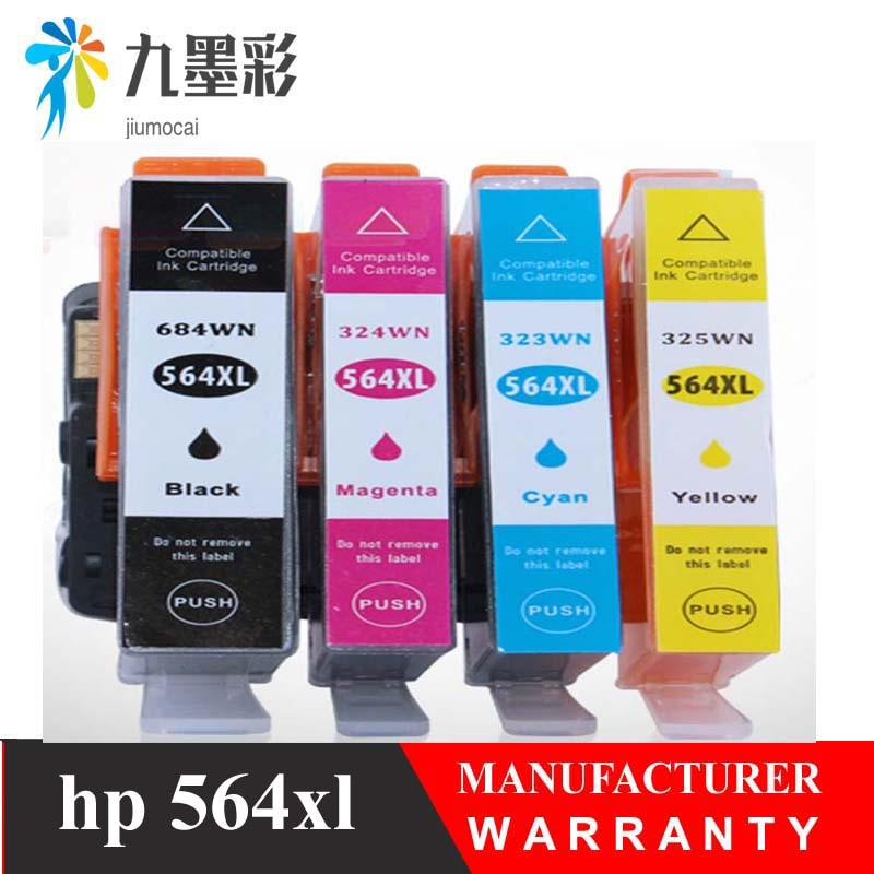 Cartucho de tinta Compatible 564 para hp 564XL para hp 564 Photosmart 5510/5511/5512/5514/5515 /5520/5522/5525/6510/6512/6515 impresora