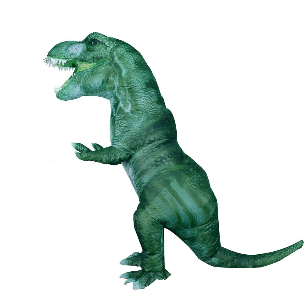 ديناصور تي ريكس الجديد القابل للنفخ, أزياء ديناصور جديدة قابلة للنفخ للحفلات التنكرية ، أزياء أنيمي للهالوين ، للصغار والكبار ، ديناصور