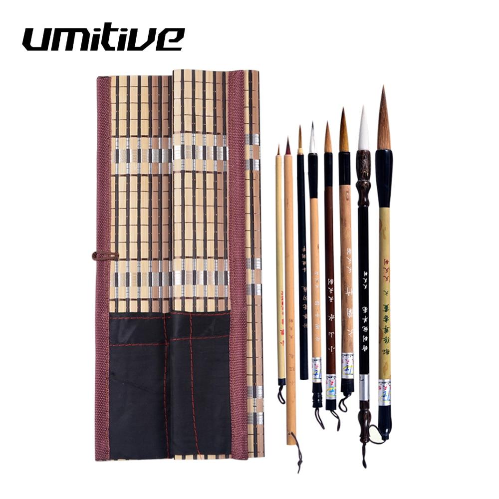 AliExpress - Umitive 5PCS/Set Bamboo Traditional Chinese Calligraphy Brushes Set Writing Art Painting Supplies