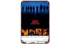 the wild bunch 1969 modern metal tin signs movies barber shop decor for bathroom sign 8x12 inches