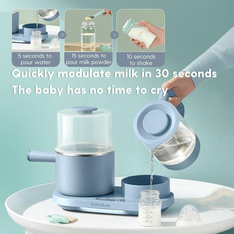 Baby Milk Warmer & Steam Bottle Sterilizer Electric Baby Food Heater Electric kettle milk Bottle warmer sterilizer bottle heater enlarge