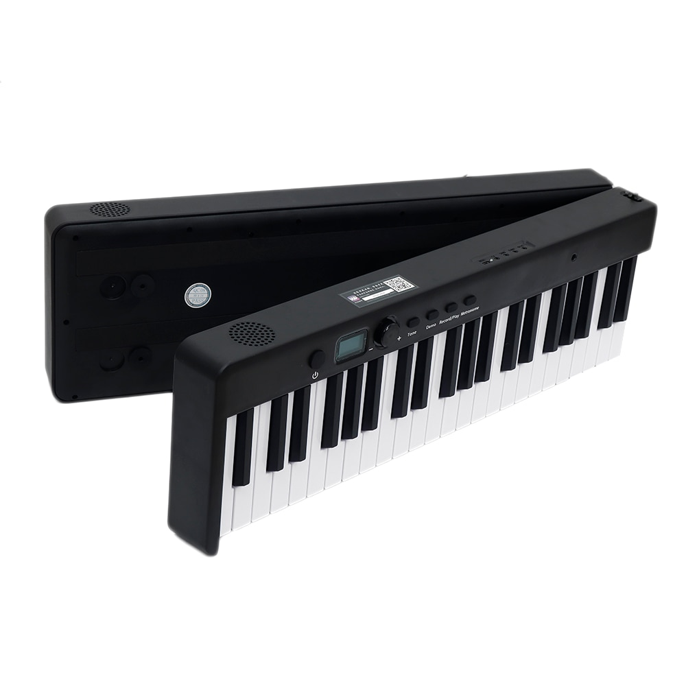 BORA Portable 88 Keys Foldable Electronic Piano Keyboard 128 Tones Rhythms 21 Demos With Sustain Pedal/Bag Built-in Battery enlarge
