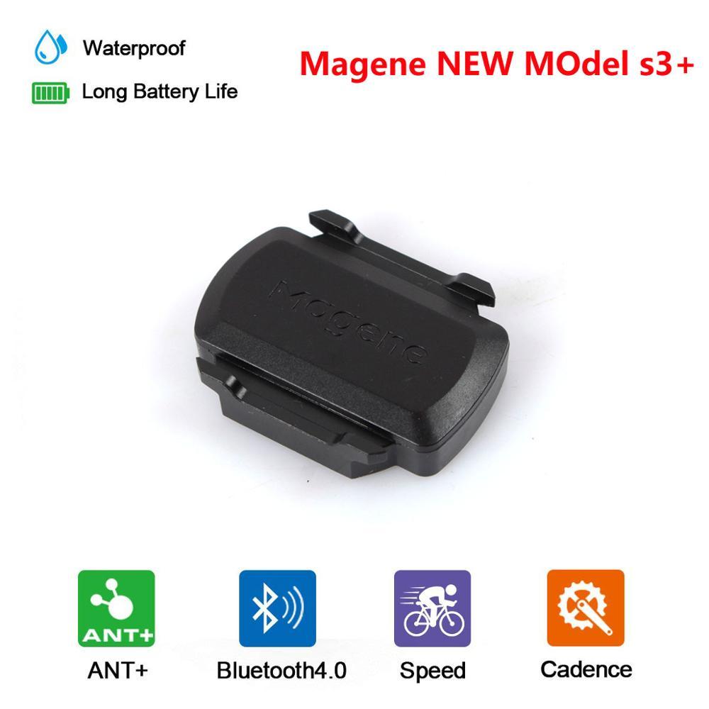 Original Magene Gemini 210 Speed Cadence Sensor Ant + Bluetooth for Garmin Strava Bryton Bike Computer Power Meter