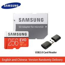 SAMSUNG Micro SD karte Speicher Karte 256GB EVO + EVO Plus Class10 TF Karte C10 100 MB/S SDXC UHS-1 lagerung Gerät Telefon Karten 2017 Neue