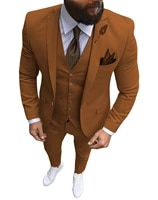 mens suit slim fit mens groom wedding tuxedos suits pary suits notched lapel tux vest trousers prom dinner wedding tuxedos