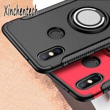 Shockproof Armor Case For Xiomi Redmi Note 5 6 7 Pro Cover For Xiaomi Mi 9 SE Mi 8 Lite A2 F1 On Red
