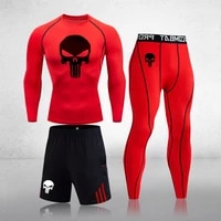 men clothing sportswear gym fitness compression sports suits running set sport outdoor jogging quick dry man underwear tight