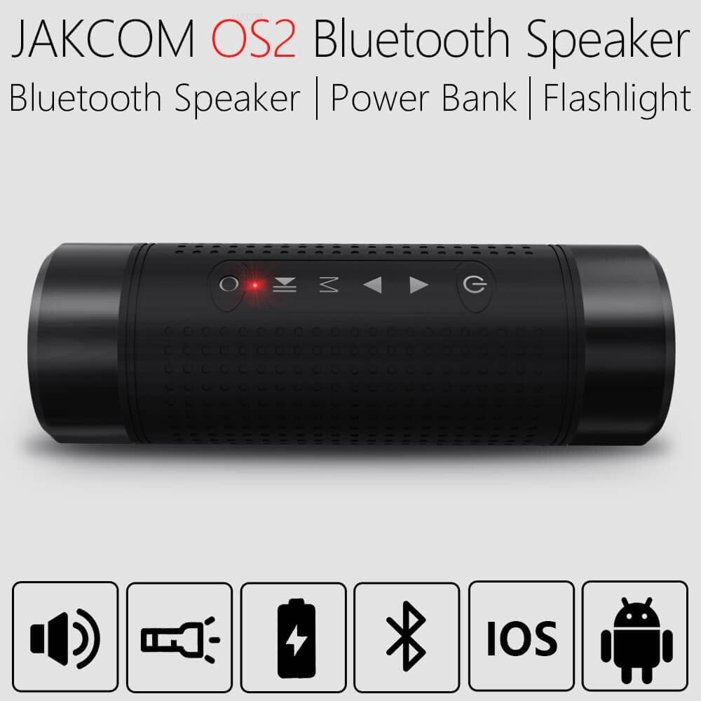 JAKCOM OS2 Outdoor Wireless Speaker For men women  18650 case power bank tuner fm hf transceiver karoake amplifier module bord