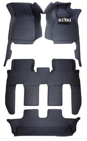 ¡Buena calidad! Alfombrillas especiales personalizadas para coche para volante a la derecha Mitsubishi Pajero Sport 7 asientos 2020-2016 alfombras impermeables