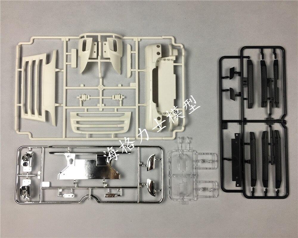 1/14 scania r470 r620 r730 reequipamento frente rosto cabeça kit terno para tamiya 56338 56323 diy atualizar rc caminhão trator
