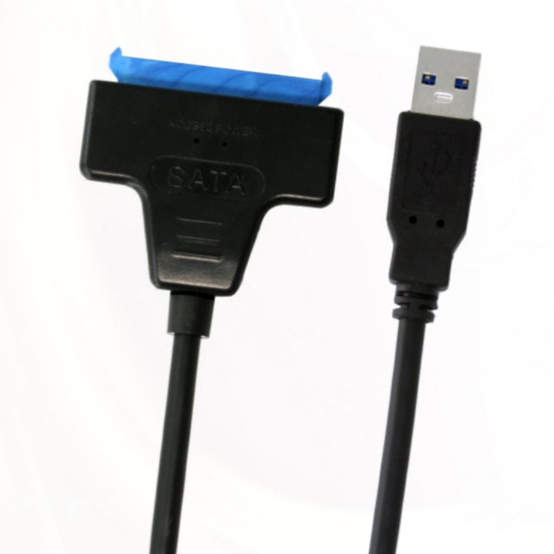 USB 3.0 SATA 3 Cable Sata to USB Adapter Up to 6 Gbps Support 2.5 Inches External SSD HDD Hard Drive 22 Pin Sata III Cable