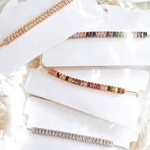 Collier avec Zircon coloré 2020 nouvelle mode bijoux déclaration collier ras du cou pour les femmes beaux cadeaux
