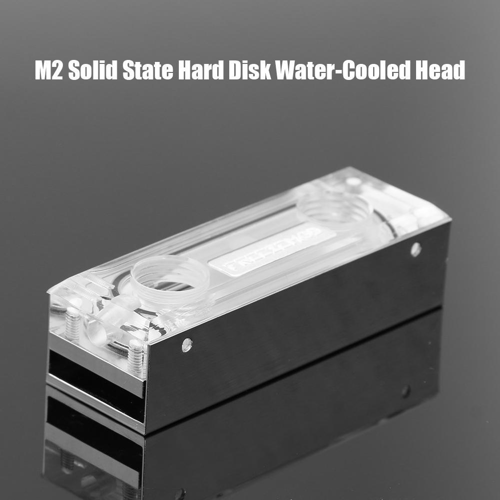 2280 M2 SSD bloque de agua PC unidad de estado sólido accesorios enfriador disco duro más duro M2 estado sólido Disco Duro refrigeración agua