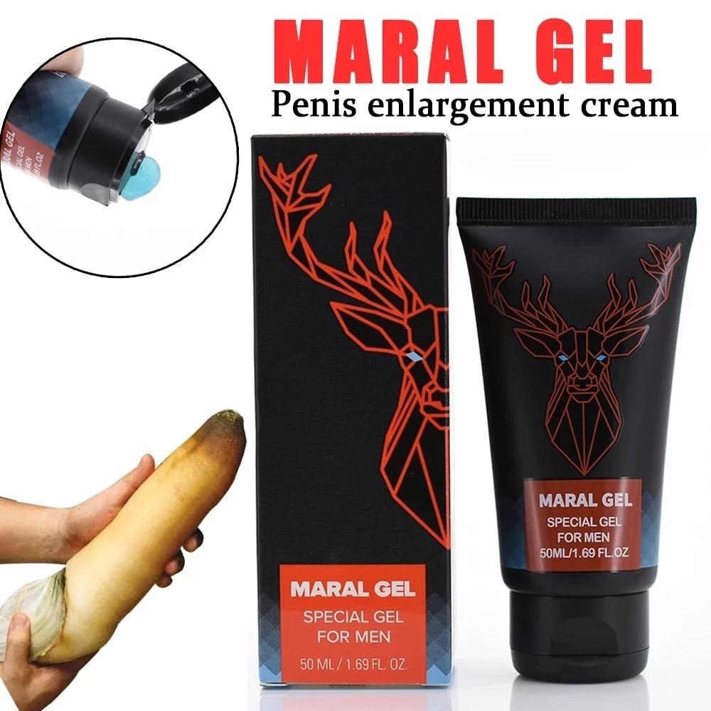 Original Russian Maral Gel Penis Enlargement Cream Titan Increase Xxl Penis Enhancer Grow Stronger S